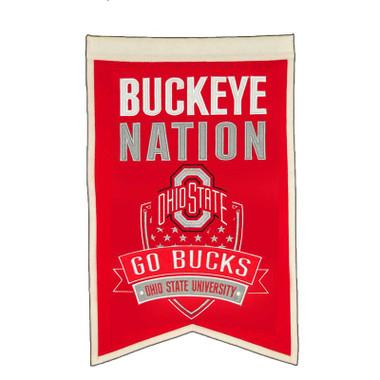 "Ohio State ""Buckeye Nation"" Banner"