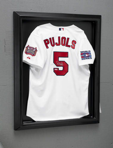 Executive Formed Black Jersey Frame - *jersey not included, display only