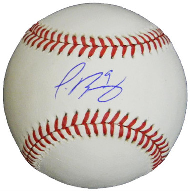 Javier Baez Signed Autographed Official MLB Baseball (upcoming signing)