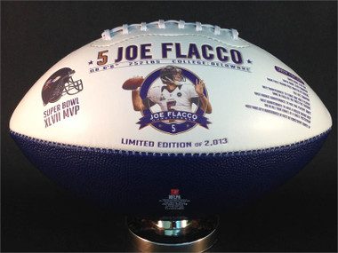 Joe Flacco Super Bowl MVP & Baltimore Ravens Franchise/Stadium History Football