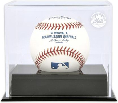 Deluxe MLB Baseball Cube Mets Display Case
