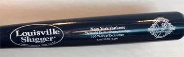 New York Yankees 100th Anniversary Bat