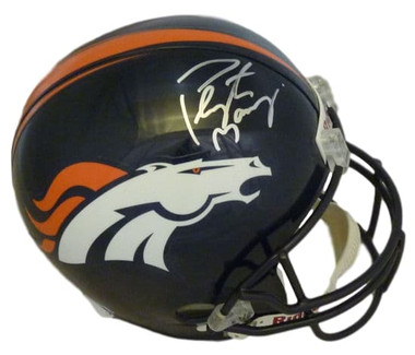Peyton Manning Autographed Replica Denver Broncos Helmet