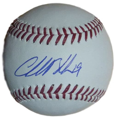 Charlie Blackmon Colorado Rockies CF Autographed Baseball