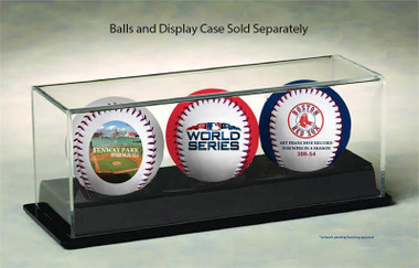 Boston Red Sox 2018 World Series Championship 3-Ball Set CASE NOT INCLUDED!