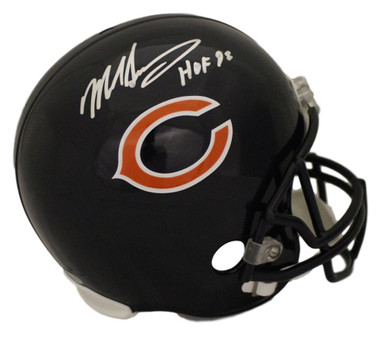 Mike Singletary Autographed Chicago Bears Replica Helmet HOF Certificate of Authenticity Included