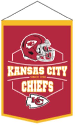 Kansas City Chiefs Revolution Helmet Banner
