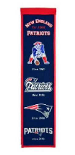New England Patriots Heritage Banner - 32x8
