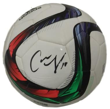 Carli Lloyd Autographed USA Soccer Adidas Soccer Ball JSA