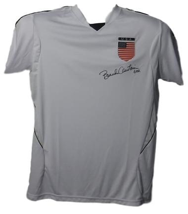 Brandi Chastain Autographed USA Soccer Size XL White Jersey JSA