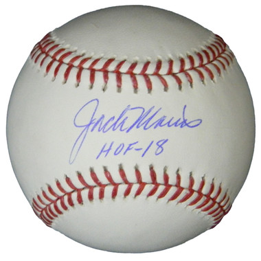 Jack Morris Signed Rawlings Official MLB Baseball w/HOF'18