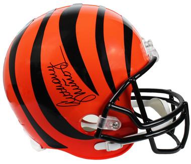 Anthony Munoz Signed Cincinnati Bengals Riddell Full Size Replica Helmet