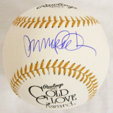Ryne Sandberg Signed Rawlings Gold Glove Logo MLB Baseball