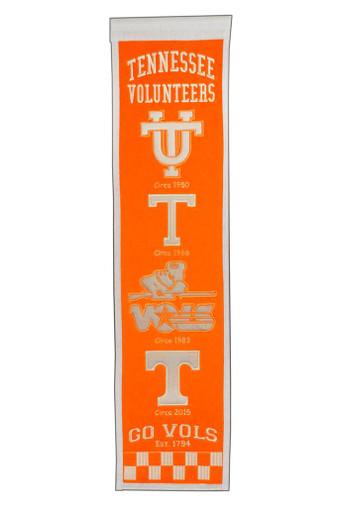 Tennessee Volunteers Heritage Banner - 32x8
