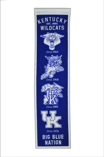 Kentucky Wildcats Heritage Banner - 32x8