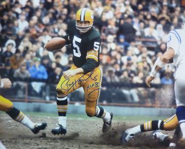 Paul Hornung Autographed Green Bay Packers 16x20 photo w HOF 86 Inscription