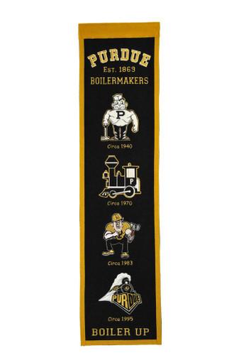Purdue Boilermakers Heritage Banner - 32x8