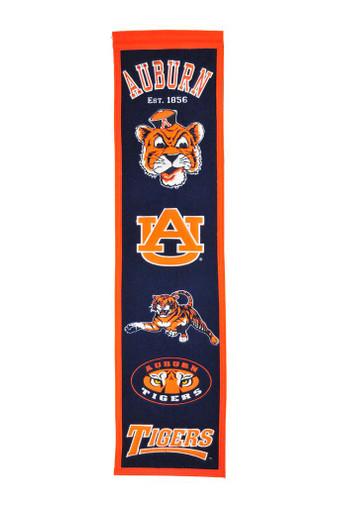 Auburn Tigers Heritage Banner - 32x8