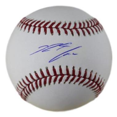 Nolan Arenado, Colorado Rockies, autographed Official Major League Baseball