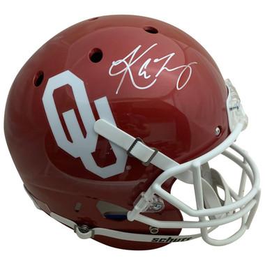 Kyler Murray Autographed Oklahoma Sooners Heisman Trophy Signed Football Full Size Helmet