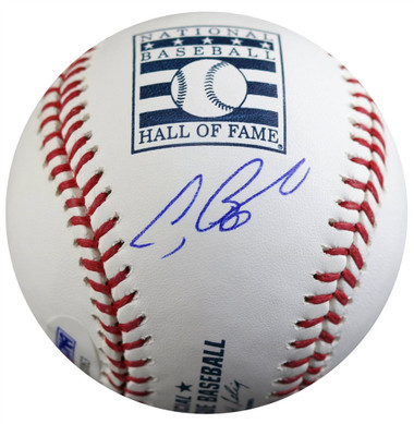 Jeff Bagwell Autographed Hall of Fame Logo Baseball
