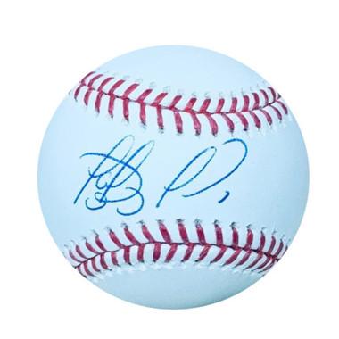 Fernando Tatis, Jr. San Diego Padres Autographed MLB Baseball with UV Display Case PSA/DNA