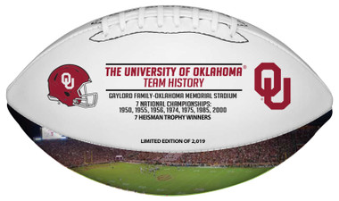 Oklahoma Sooners Back-to-Back Heisman Winners and #1 NFL Draft Pick Football