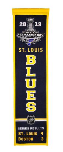 St. Louis Blues 2019 SC Heritage Banner - 32x8