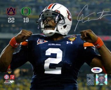 Cam Newton Autographed 8x10 Photo - Auburn Tigers PSA/DNA