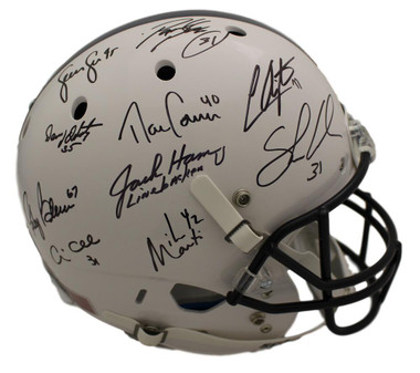 Penn State Nittany Lions Linebacker U Autographed Replica Helmet 10 Sigs JSA