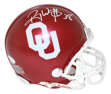 Roy Williams Autographed Mini Helmet - Oklahoma Sooners JSA