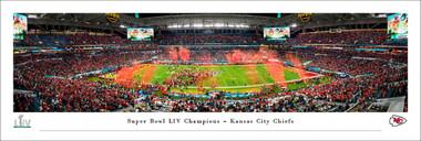 Kansas City Chiefs Super Bowl LIV Panorama - Post Game