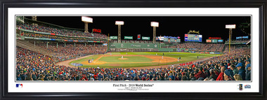 Boston Red Sox Fenway Park Panorama - 1st Pitch 2018 World Series