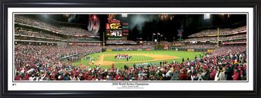 Philadelphia Phillies Panorama - 2008 World Series Champions