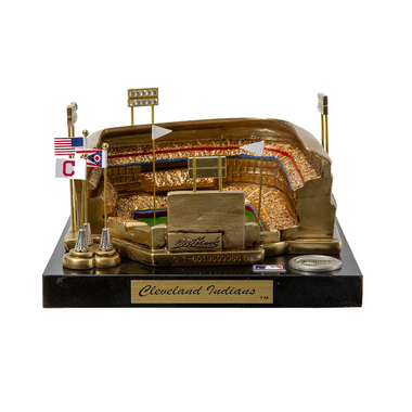 Progressive Field Cleveland Indians - Stadium Rendition with Display Case