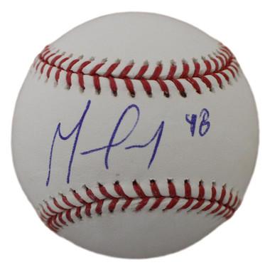 German Marquez Autographed Baseball - Colorado Rockies OML