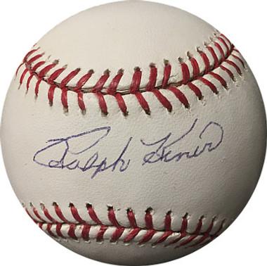Ralph Kiner signed Baseball - Pittsburgh Pirates Official Major League - JSA Hologram #F69395