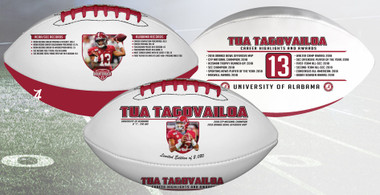 Tua Tagovailoa Alabama Crimson Tide Commemorative Football
