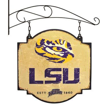 LSU Tigers Tavern Sign - 16x16