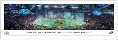 Philadelphia Eagles 2018 Super Bowl LII Champions Panoramic Picture