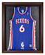 NBA Brown Framed Jersey Display Case