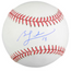 Ben Zobrist Autographed MLB Baseball