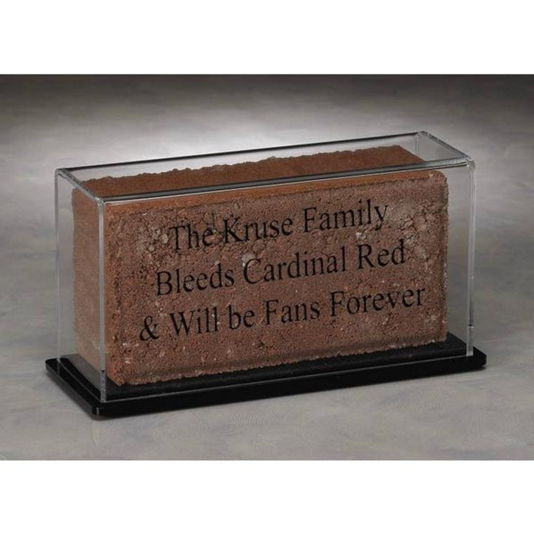 "4"" x 8"" Brick Display Case"
