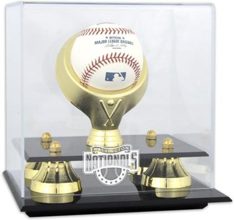 Golden Classic MLB Single Baseball Nationals Display Case