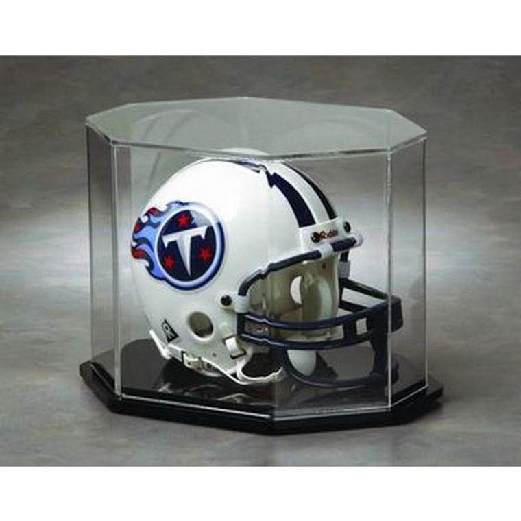Football Mini Helmet Display Case - Octagon