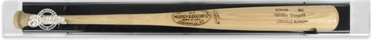 Deluxe Baseball Bat Brewers Display Case