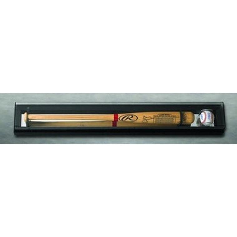 Single Baseball Bat and Baseball Display Case - Elite