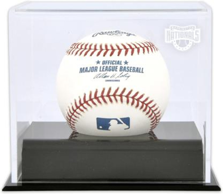Deluxe MLB Baseball Cube Nationals Display Case