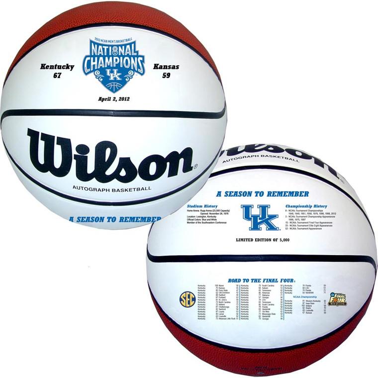 Kentucky Wildcats 2012 NCAA Championship Final Four Basketball