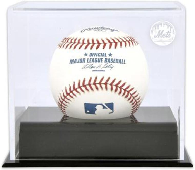 Deluxe MLB Baseball Cube Mets Display Case